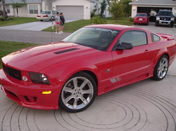 willisvickie 2005 Saleen Mustang