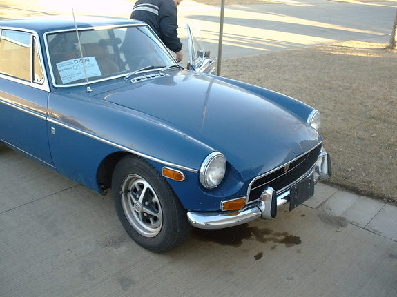 Another xcodeman 1971 MG MGB post... - 7868650