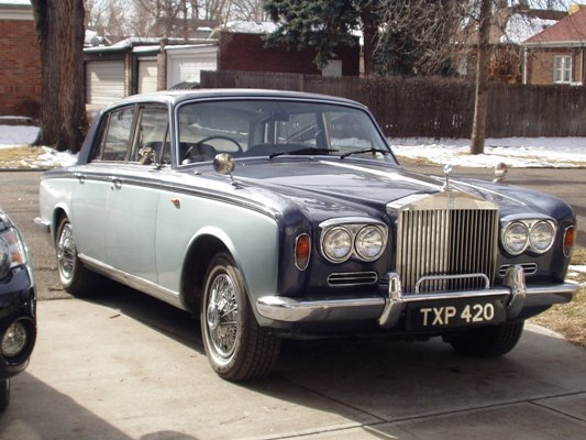 dandenver 1968 Rolls-Royce Silver Shadow 2