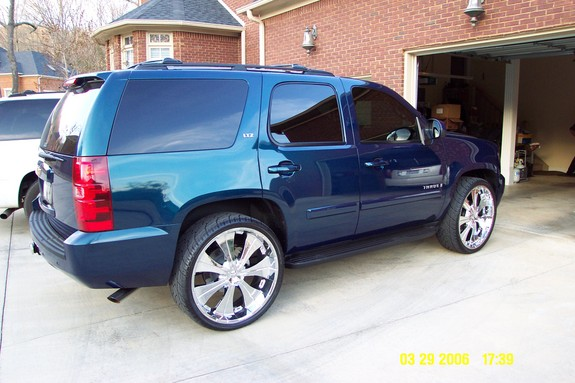 2007 Chevrolet Tahoe Ltz >> AVYDUB_24s 2007 Chevrolet Tahoe Specs, Photos, Modification Info at CarDomain