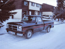 whitlloydtaker 1992 Dodge D150 Club Cab