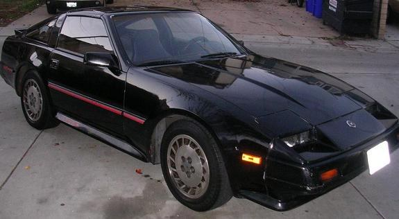 darkxblack 1986 nissan 300zx specs photos modification. Black Bedroom Furniture Sets. Home Design Ideas