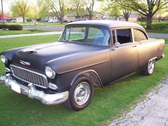 Another Dirtmod08 1955 Chevrolet Bel Air Post Photo 7953651