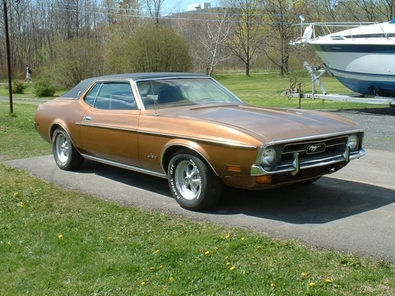 72_Stang's 1972 Ford Mustang