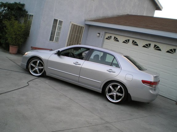 Lowered 2003 Honda Accord Khmerboi414 2003 Honda Accord