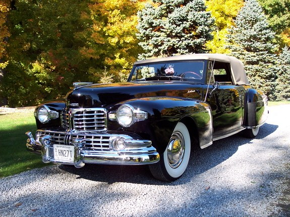 RollingThunder57 1948 Lincoln Continental