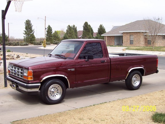 klc1985 1990 ford ranger regular cab specs  photos