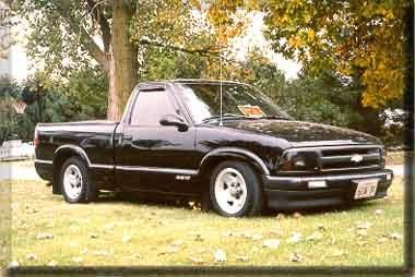 Chevyandfordman 1996 Chevrolet S10 Regular Cab Specs