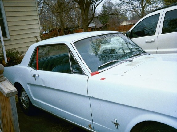Another paralyse 1966 Ford Mustang post... - 8006236