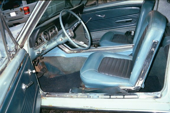 Another paralyse 1966 Ford Mustang post... - 8006237