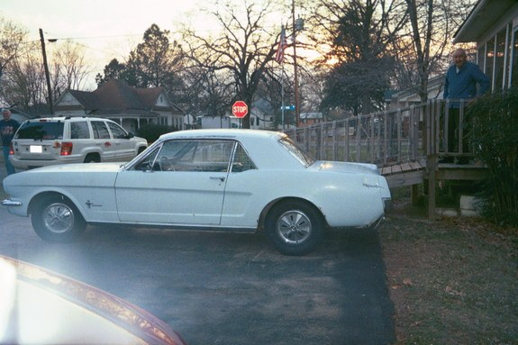 Another paralyse 1966 Ford Mustang post... - 8006241