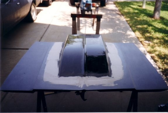 Paint And Body Page Harwood Cowl Induction Scoop Paint Booth Made Out Of  PVC Pipe And