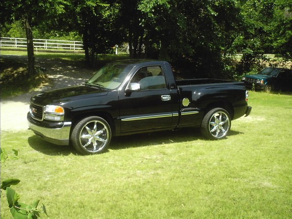 russsierra 2001 gmc sierra 1500 regular cab specs photos modification info at cardomain. Black Bedroom Furniture Sets. Home Design Ideas
