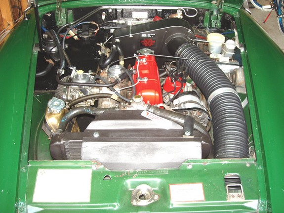 Are mg midget 1500 engine solved