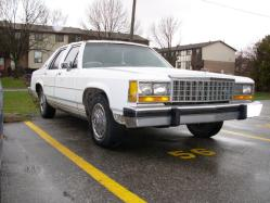 rookies86vics 1986 Ford LTD Crown Victoria