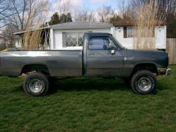 19heavychevy72s 1988 Dodge Ram 1500 Regular Cab