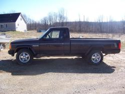 1992 jeep comanche long bed