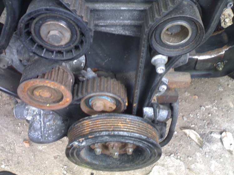 C20LET timing belt tension    2nd opinion needed (pic)