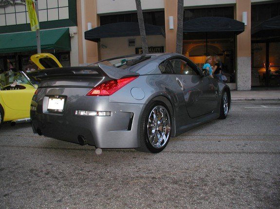 bigpoppapump2 2003 nissan 350z specs photos modification. Black Bedroom Furniture Sets. Home Design Ideas
