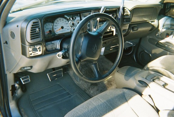 1999 Chevy Tahoe Interior