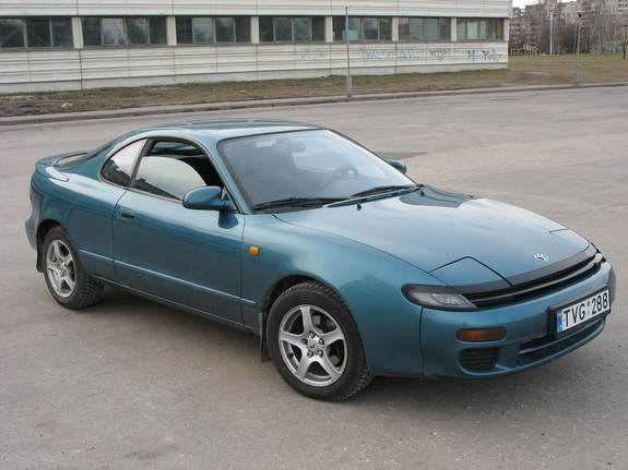 1992 toyota celica green 200 interior and exterior images. Black Bedroom Furniture Sets. Home Design Ideas