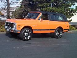 air_and_seas 1972 Chevrolet Blazer