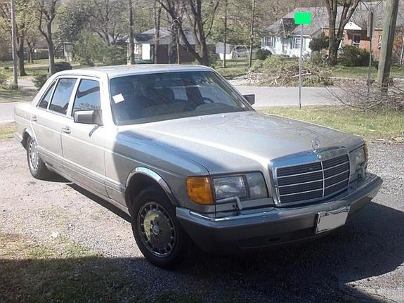 Another LawJet 1987 Mercedes-Benz S-Class post... - 8119333