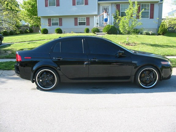 da black ack 2005 acura tl specs photos modification. Black Bedroom Furniture Sets. Home Design Ideas