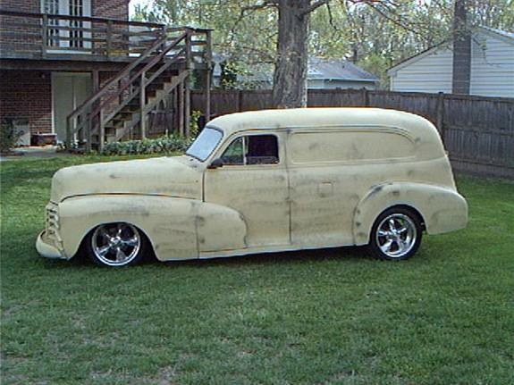 Lowstrov 1948 Chevrolet Panel Van Specs Photos