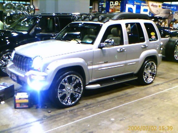 kromerich 2004 jeep liberty specs photos modification. Black Bedroom Furniture Sets. Home Design Ideas