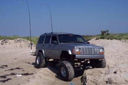 Stouttrout 2000 Jeep Cherokee 8138029