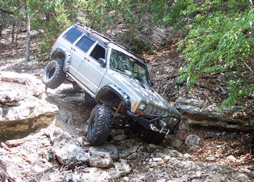 Stouttrout 2000 Jeep Cherokee 8138043