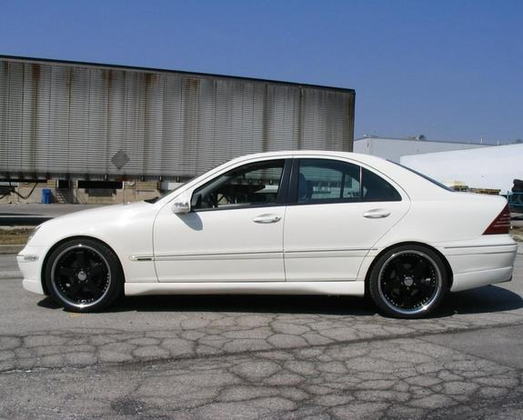 supershyguy_trd 2004 Mercedes-Benz C-Class