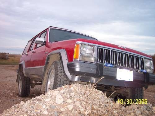 Another nowucmenowudont 1992 Jeep Cherokee post... - 8160219