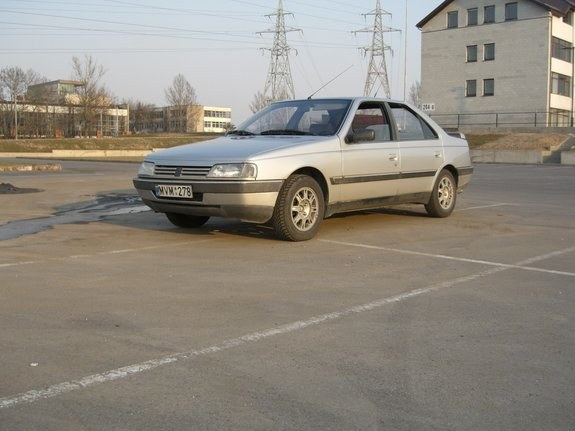 Another selter 1990 Peugeot 405 post... - 8525584