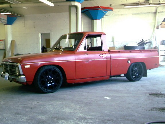 1974 Ford courier engine swap