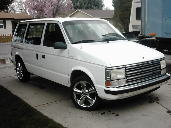 Another TurboFan 1989 Plymouth Voyager post... - 8207077