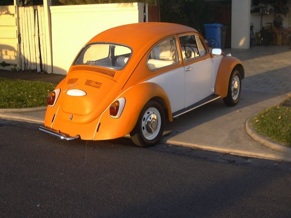 Another toranasaurus 1970 Volkswagen Beetle post... - 8184356