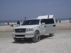 F150 WHITE ON CHROME 26SSSSSS