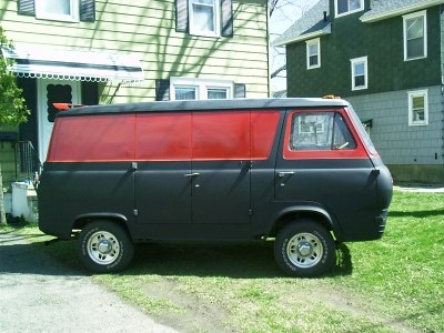 Another VOODOO_62 1962 Ford Econoline E150 Passenger post... - 8209547