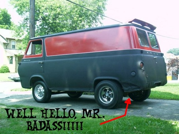 Another VOODOO_62 1962 Ford Econoline E150 Passenger post... - 8209582