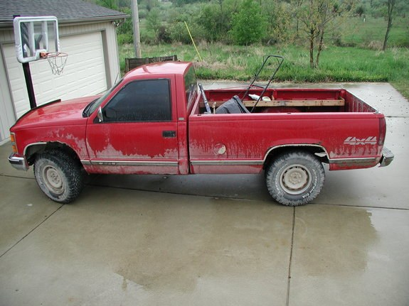 Another 89_Chevy 1989 Chevrolet Silverado 1500 Regular Cab post... - 8300040