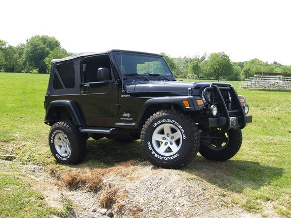 Bwinters158 2004 Jeep Wrangler Specs Photos Modification