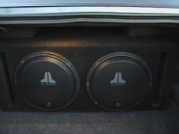 New Car Bass Drop Speakers Large