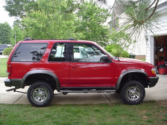 1998 ford explorer sport red
