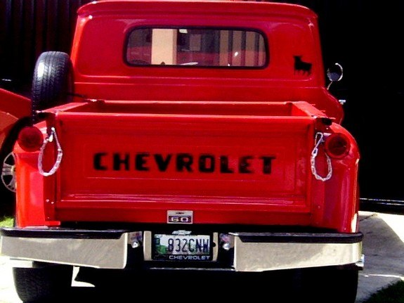Another TITOREDHOTAPACHE 1960 Chevrolet Apache post... - 8311497