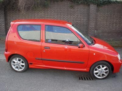 zuffykat 2001 fiat seicento specs photos modification. Black Bedroom Furniture Sets. Home Design Ideas