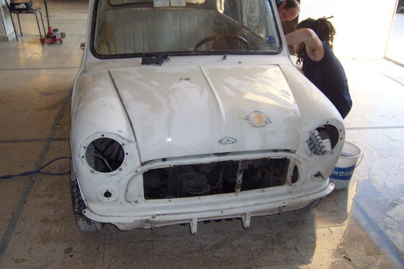 Another notorianm 1973 MINI Cooper post... - 8510818