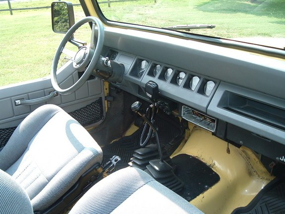 Large on 1989 Jeep Wrangler Seat