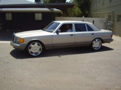 THE420s 1988 Mercedes-Benz S-Class